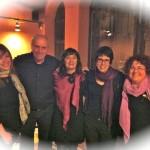 Sterxu, Joan, Rosa M, Estel·la i Marta