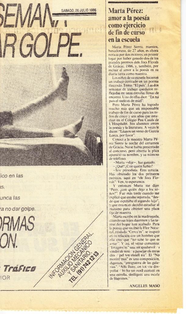 La Vanguardia 1986