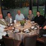 Amb en David i altres amics