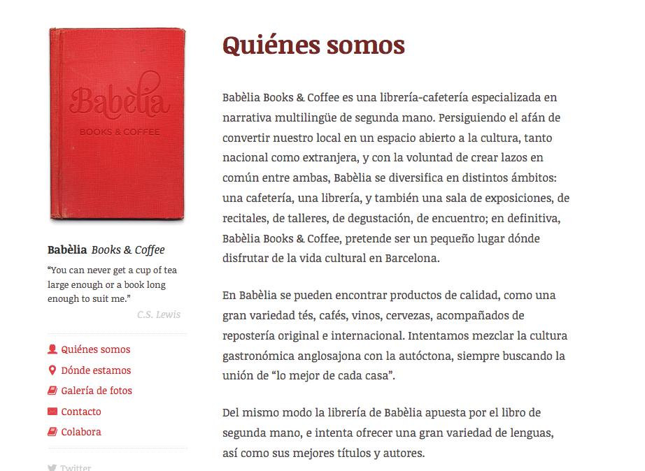 Al web de Babelia