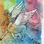 De Glòria Calafell: La poesia a lloms de Pegàs