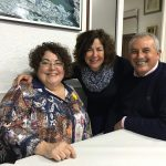 Amb Begonya Mezquita i Joan Navarro