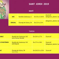 Signatures de Sant Jordi
