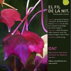 Dijous 5 de juliol a la Biblioteca de Santa Eulàlia de Ronçana