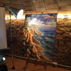 ETV a la inauguració de Contrapunt poètic 2015