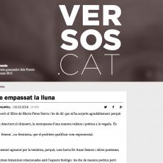 «M'he empassat la lluna» a Versos.cat