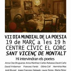 Dia Mundial de la Poesia a La Muntala