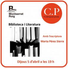 Contrapunt poètic – abril – biblioteca i literatura
